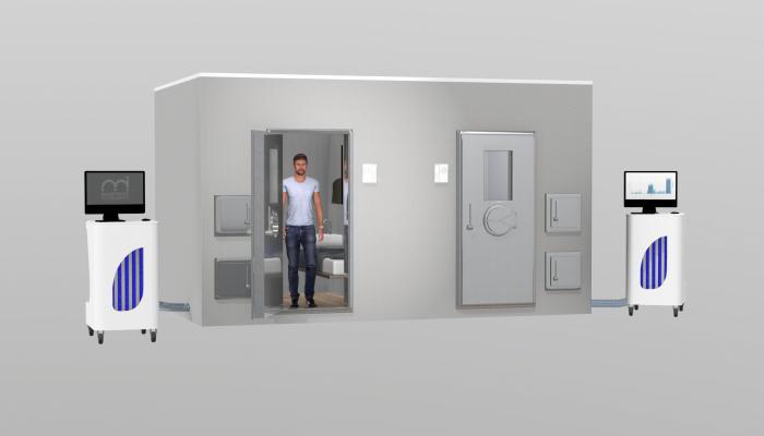 Render Elements Rooms Calorimetry