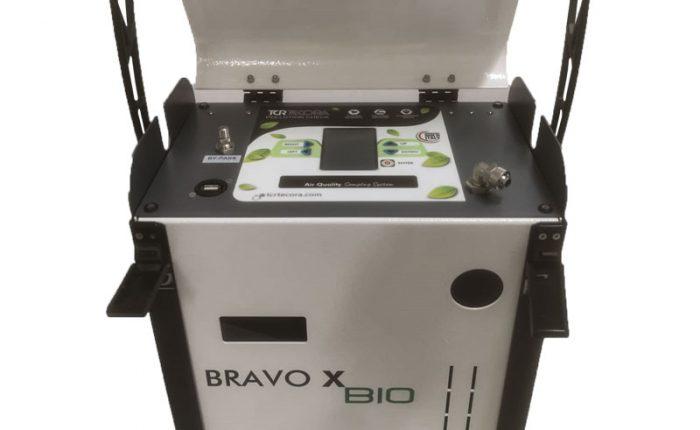Electronic flow control sampler