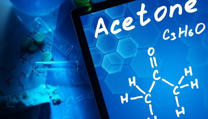 Acetone and other chemicals